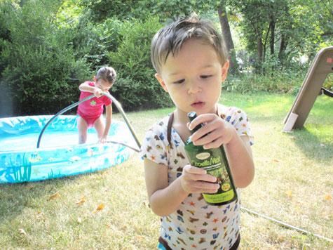 Kid safe Herbaria all-natural insect repellent Citronella Mist