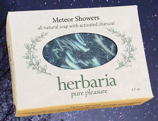 Meteor Showers soap