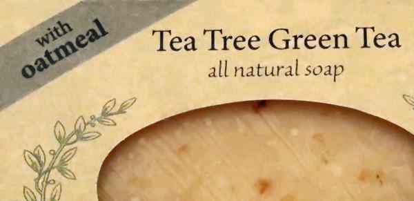 Tea Tree Green Tea with Oatmeal