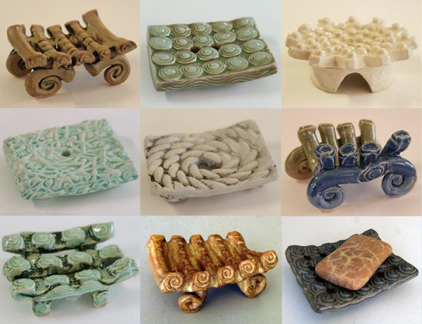 Handmade Ceramic Soap Dishes