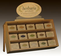 herbaria all natural handmade soap is a great product for retailers