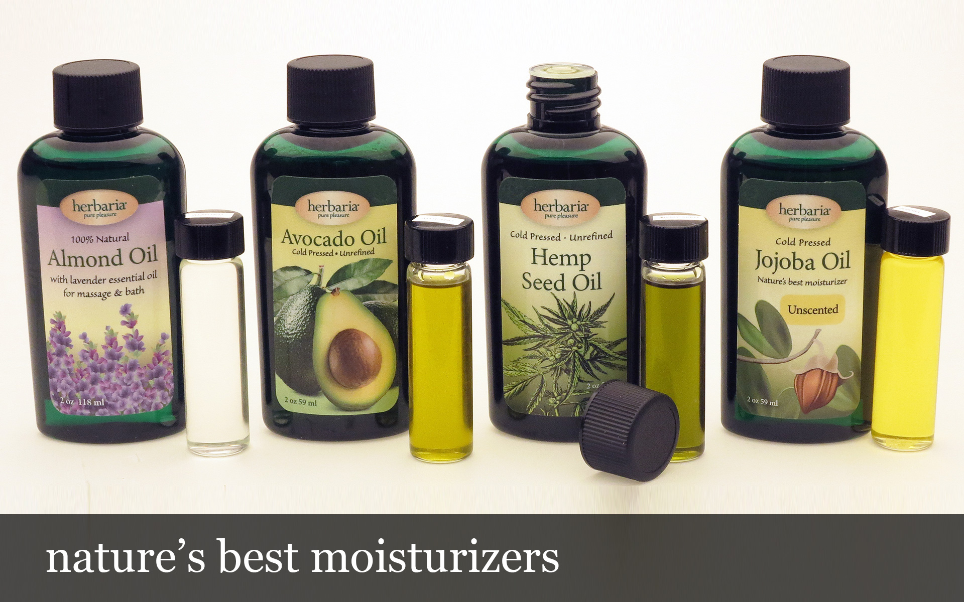 Nature's best moisturizers