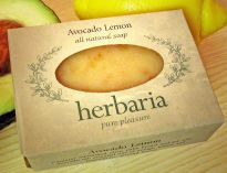 Herbaria all natural Avocado Lemon soap