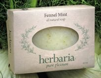 Herbaria all natural Fennel MintSoap