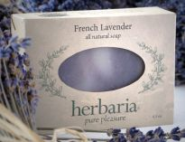 Herbaria all natural French Lavender Soap