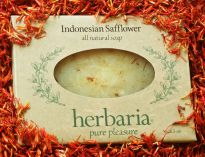 Herbaria all natural Indonesian Safflower Soap