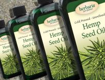 Herbaria Hemp Seed Oil cold pressed unfiltered