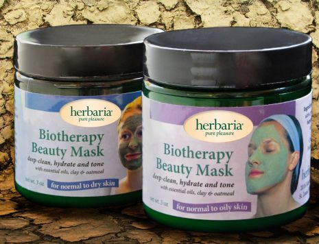 Herbaria all natural Biotherapy Beauty Mask