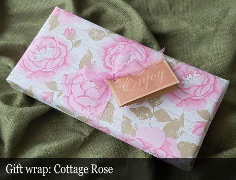 Gift Wrap - Cottage Rose
