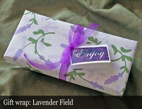 Gift Wrap - Lavender Field