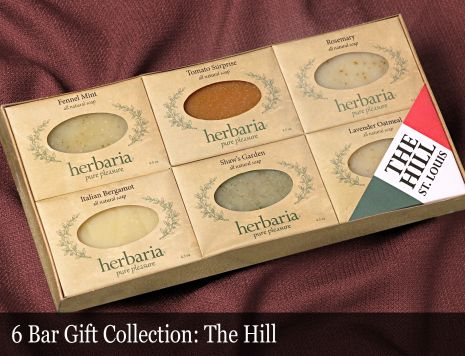 The Hill 6-Bar Soap Collection