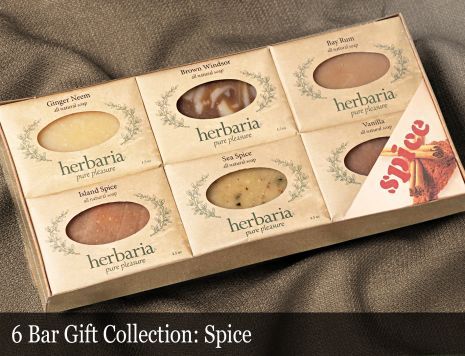 Spice 6-Bar Soap Collection
