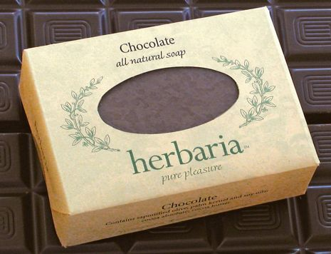 Herbaria all-natural Chocolate Soap