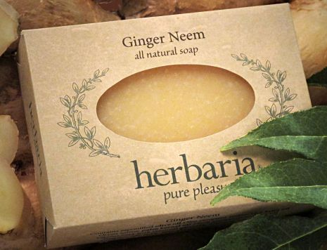 Herbaria all natural Ginger NeemSoap
