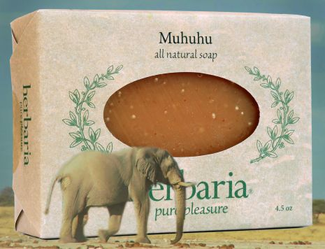 Herbaria all natural Muhuhu Soap