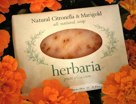 Herbaria all natural Natural Citronella & Marigold Soap