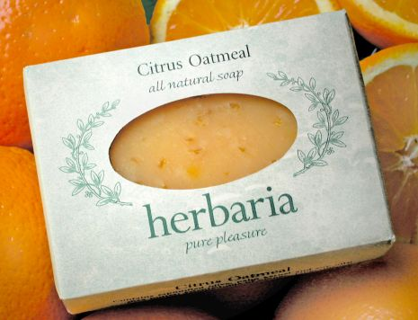 Herbaria all-natural Citrus Oatmeal Soap